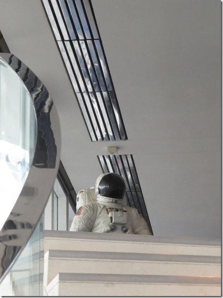 DBA in Space photo taken by Brad M McGehee