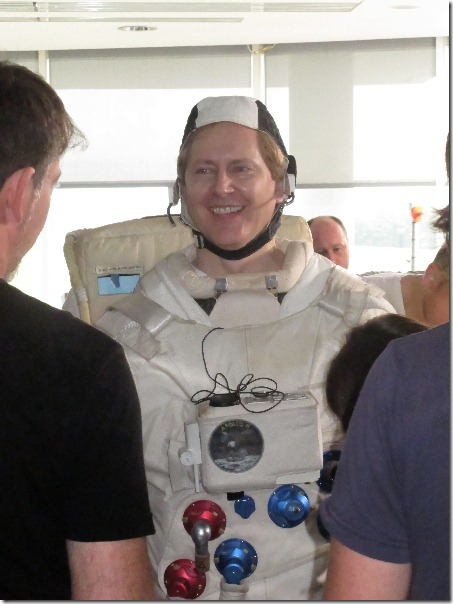 Brad McGehee in DBA in Space constume.